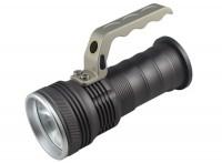 户外探路寻夜保安野营强光手电筒探照手提灯巡逻灯可定制LOGO